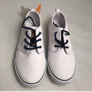 Gymboree white/navy tennis sneakers 3